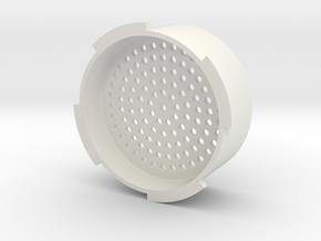 Crema Attachment for Aeropress in White Natural Versatile Plastic
