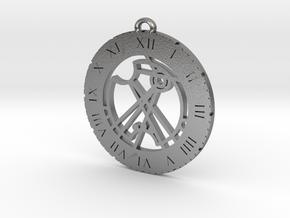 Ramisa - Pendant in Natural Silver