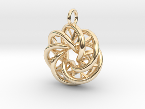 Mobius-03 in 14K Yellow Gold