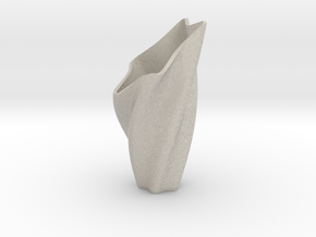 Star Vase in Natural Sandstone