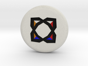 Runescape: Elemental Rune in Full Color Sandstone