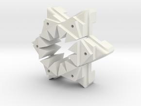 Dart Holder  in White Natural Versatile Plastic