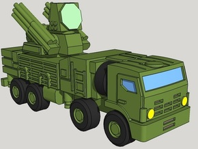 6mm Russian Pantsir-S1 ADAV (x4) in Smooth Fine Detail Plastic