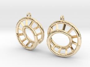 Ear-Rings-03 in 14k Gold Plated Brass