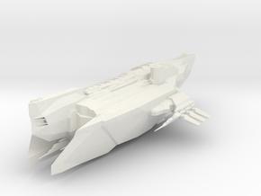 Star Ship in White Strong & Flexible