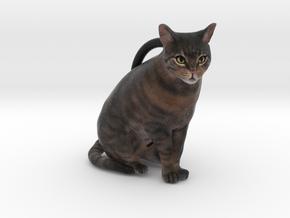 Custom Cat Ornament - Kitters in Full Color Sandstone