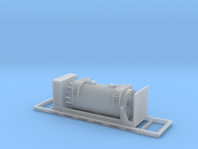 Nuclear Shipping Cask - Zscale in Smooth Fine Detail Plastic