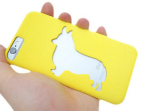 Corgi Iphone 6 Case in Yellow Strong & Flexible Polished