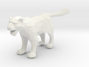 Snow Leopard - Toys in White Natural Versatile Plastic