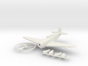 1/144 Yakovlev Yak-1 in White Natural Versatile Plastic
