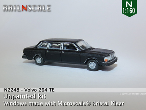 Volvo 264 TE (N 1:160) in Smooth Fine Detail Plastic