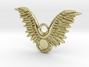 Wings in 18K Gold Plated