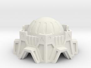 Observation Building in White Natural Versatile Plastic