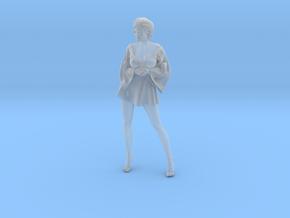 Skirt Girl-006 scale 1/10 in Smooth Fine Detail Plastic