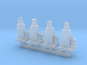 1/64 20 Ton Bottle Jack in Smooth Fine Detail Plastic