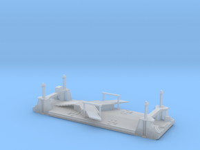 1/700 1 Off LST Pierhead Part 1 in Smooth Fine Detail Plastic