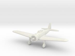1/200 Nakajima Ki-27 Nate in White Natural Versatile Plastic