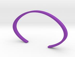 Cuff in Purple Processed Versatile Plastic