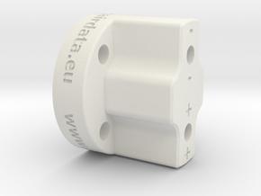 FF-8-001 - Rear Body in White Natural Versatile Plastic