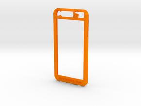 Iphone 6 plus  in Orange Processed Versatile Plastic