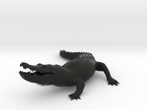 FULL ALLIGATOR in Black Natural Versatile Plastic