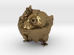 chicken toy in Polished Bronze