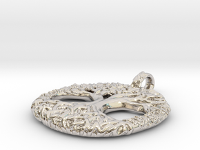 Tree Of Life in Rhodium Plated Brass