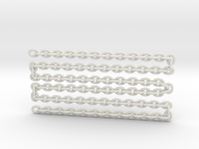 "scale logChain 24"" in White Natural Versatile Plastic"