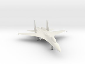 SU-27 version 2 in White Strong & Flexible