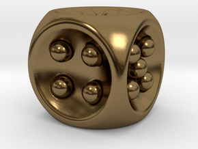 Gravity D6 in Polished Bronze