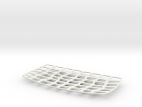 Platter - 01 in White Strong & Flexible