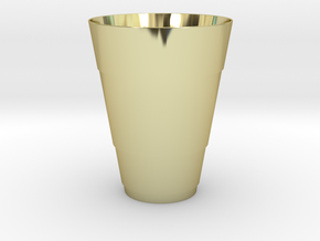 Gold Beer Pong Cup in 18k Gold