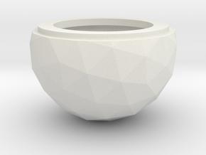 Geodesic Dome Radar Cover in White Natural Versatile Plastic