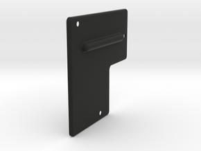 Trim Cable Cover F9 -F10 in Black Natural Versatile Plastic