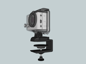 Gopro G Clamp in White Natural Versatile Plastic