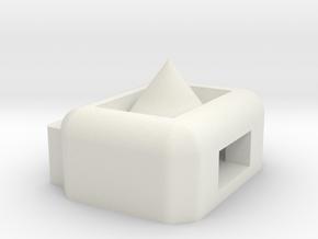 DJI Naza M V2 LED Holder. in White Strong & Flexible