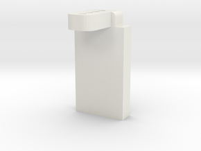 DMR MPC Battery Stay in White Natural Versatile Plastic