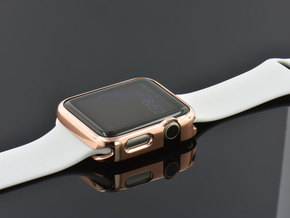 Apple Watch Gold Cover Case 42mm in 14k Rose Gold