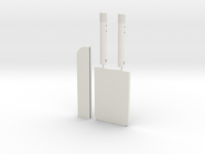 Anti-Security Blade PP & ESB (3rd shin tool) in White Natural Versatile Plastic