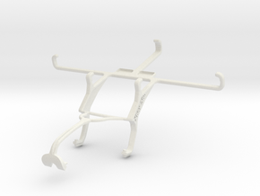Controller mount for Xbox 360 & Unnecto Air 5.5 in White Natural Versatile Plastic