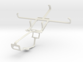 Controller mount for Xbox One & vivo Y28 in White Natural Versatile Plastic
