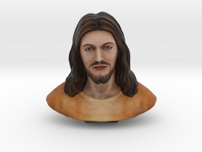 Jesus Christ (3 Inches - Full colored sandstone) in Full Color Sandstone
