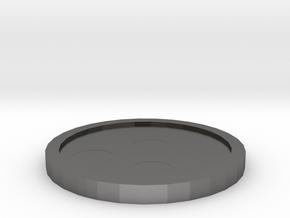Hive Badge - Johto Pokemon Bagdes in Polished Nickel Steel