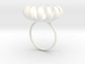 opening bloom ring in White Processed Versatile Plastic