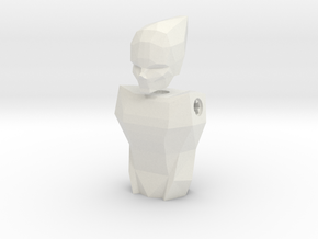 LoveLego: Omprelly. in White Natural Versatile Plastic
