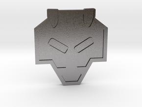 Rising Badge - Johto Pokemon Bagdes in Polished Nickel Steel