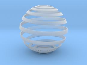 Loxodrome ornament in Smooth Fine Detail Plastic