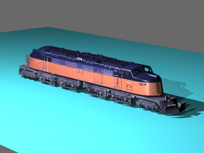 NScale EF4 Little Joe E78 (Rebuilt) Milwaukee  in Smooth Fine Detail Plastic