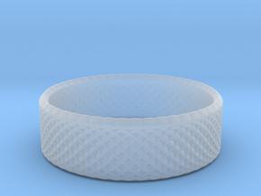 0205 Lissajous Figure Ring (Size3.5, 14.4mm) #012 in Smoothest Fine Detail Plastic