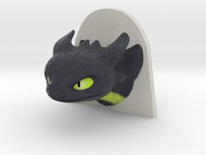 Dragon Head in Full Color Sandstone